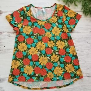 Lularoe Large Simply Comfortable Floral Top